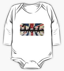 221B Abbey Road (Version One) One Piece - Long Sleeve