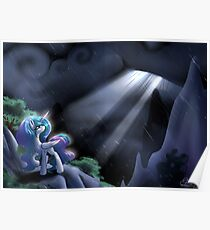 Sunlight through the rain Poster