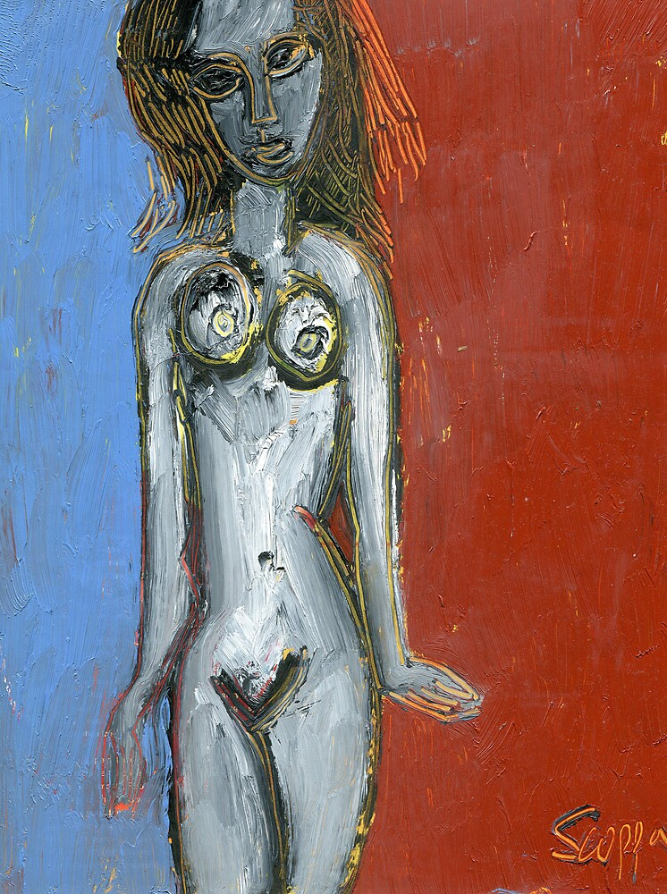 nude with major hairdo by catullus