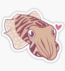 Cuttlefish love Sticker