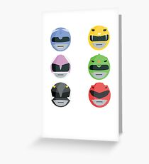 It's Morphin' Time (no outline) Greeting Card