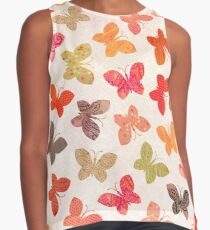 Butterfly Picnic Contrast Tank