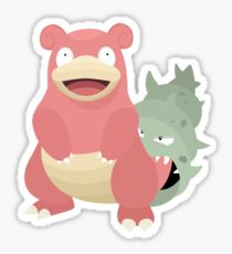 Slowbro Sticker