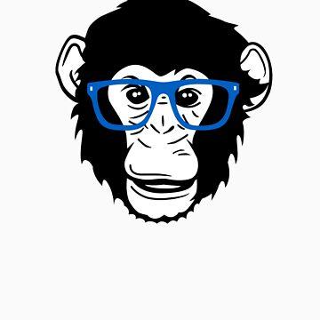 Monkey Glasses by monkeytee