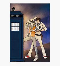 Back to the Tardis Photographic Print
