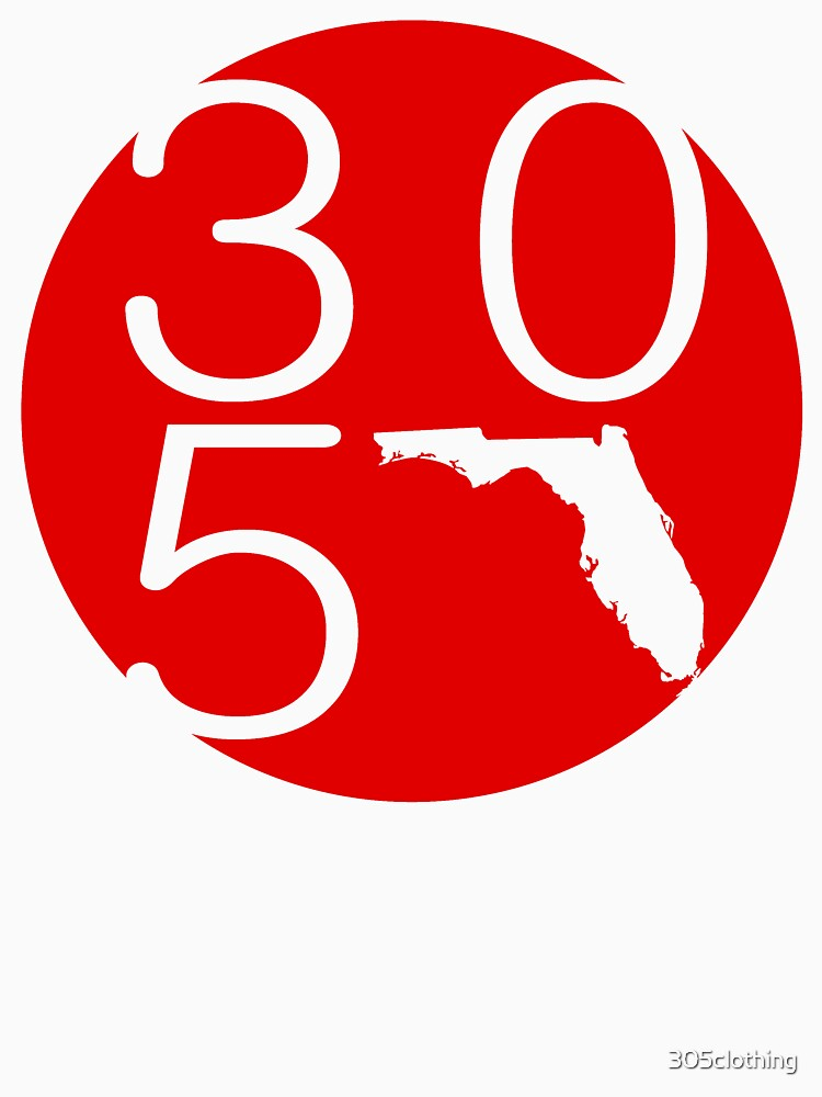 305 Circle Red by 305clothing