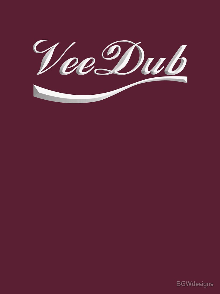 VeeDub - white print by BGWdesigns