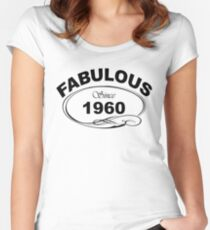 Fabulous Since 1960 Women's Fitted Scoop T-Shirt