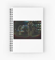 Imagine Dragons Neon Spiral Notebook