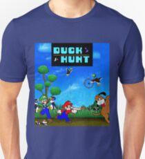 Mario and Luigi : Duck Hunt Unisex T-Shirt
