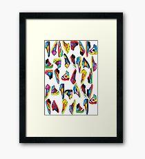 sneak-o-file Framed Print