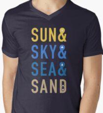 Fun In The Sun Men's V-Neck T-Shirt