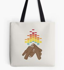 Crackling Fire Tote Bag