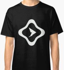 Pause Resume White Logo Classic T-Shirt