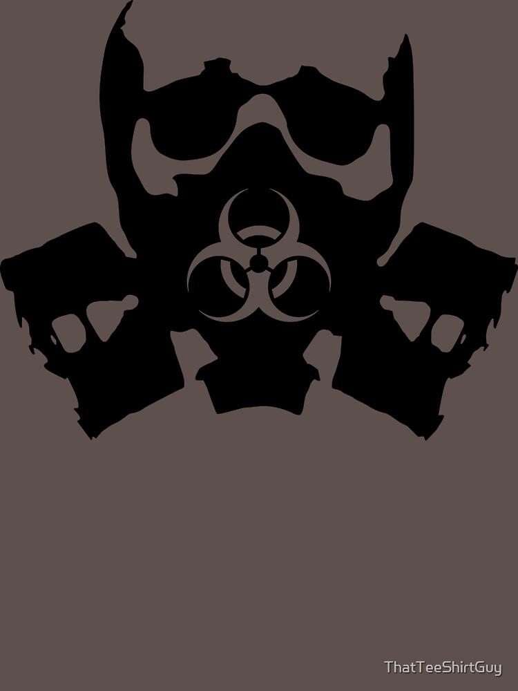 Biohazard Skull by ThatTeeShirtGuy
