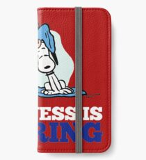 Snoopy and Charlie Brown Quote iPhone Wallet/Case/Skin