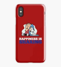 Snoopy and Charlie Brown Quote iPhone Case/Skin
