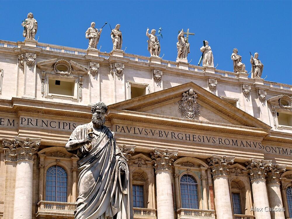 Saint Peter's Basilica, Rome by Alex Cassels