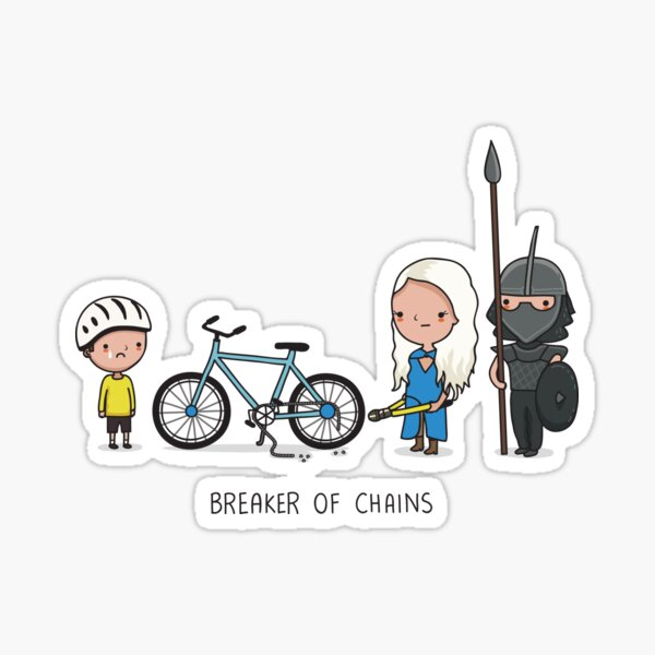 Breaker of chains Sticker
