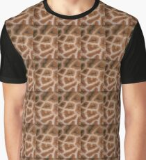 Natural Abstracts - Giraffe Hide Graphic T-Shirt