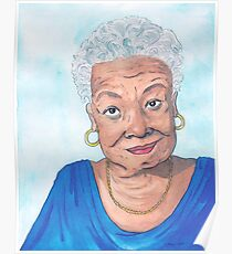 Maya Angelou, A Phenomenal Woman Poster