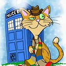 The Cat and the Tardis by AngelGirl21030