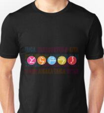 Toradora! Logo with Character Names Unisex T-Shirt