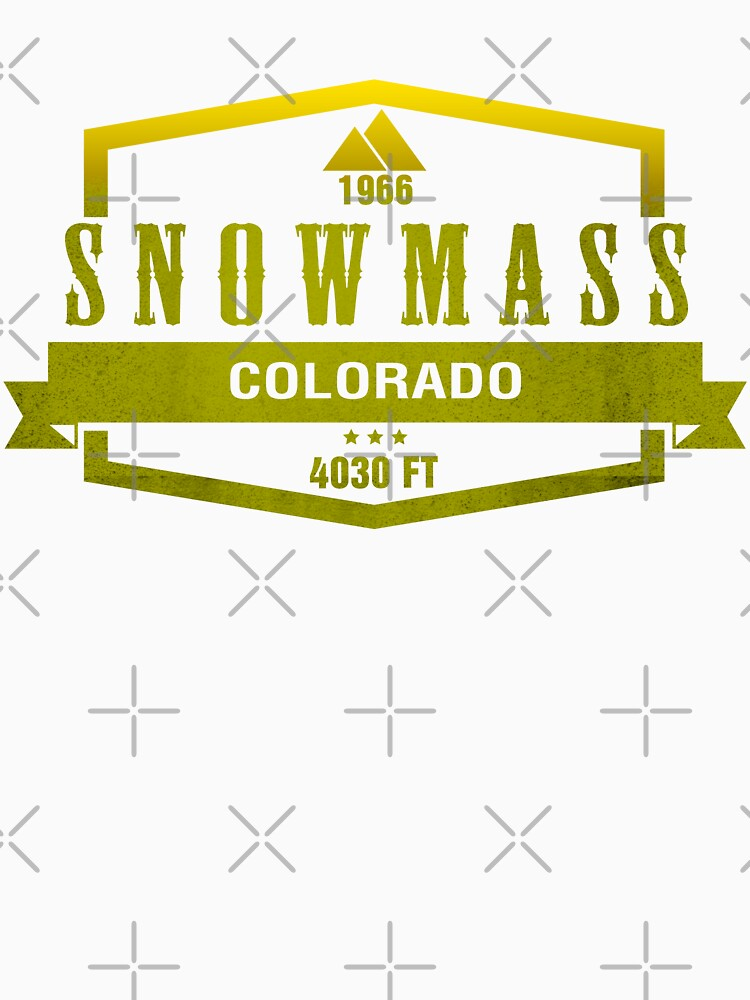 Snowmass Ski Resort Colorado by CarbonClothing