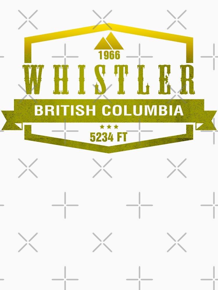 Whistler Ski Resort British Columbia by CarbonClothing