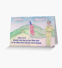 For our Fallen Soldiers Greeting Card