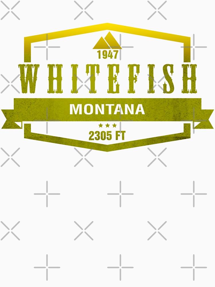 Whitefish Ski Resort Montana by CarbonClothing
