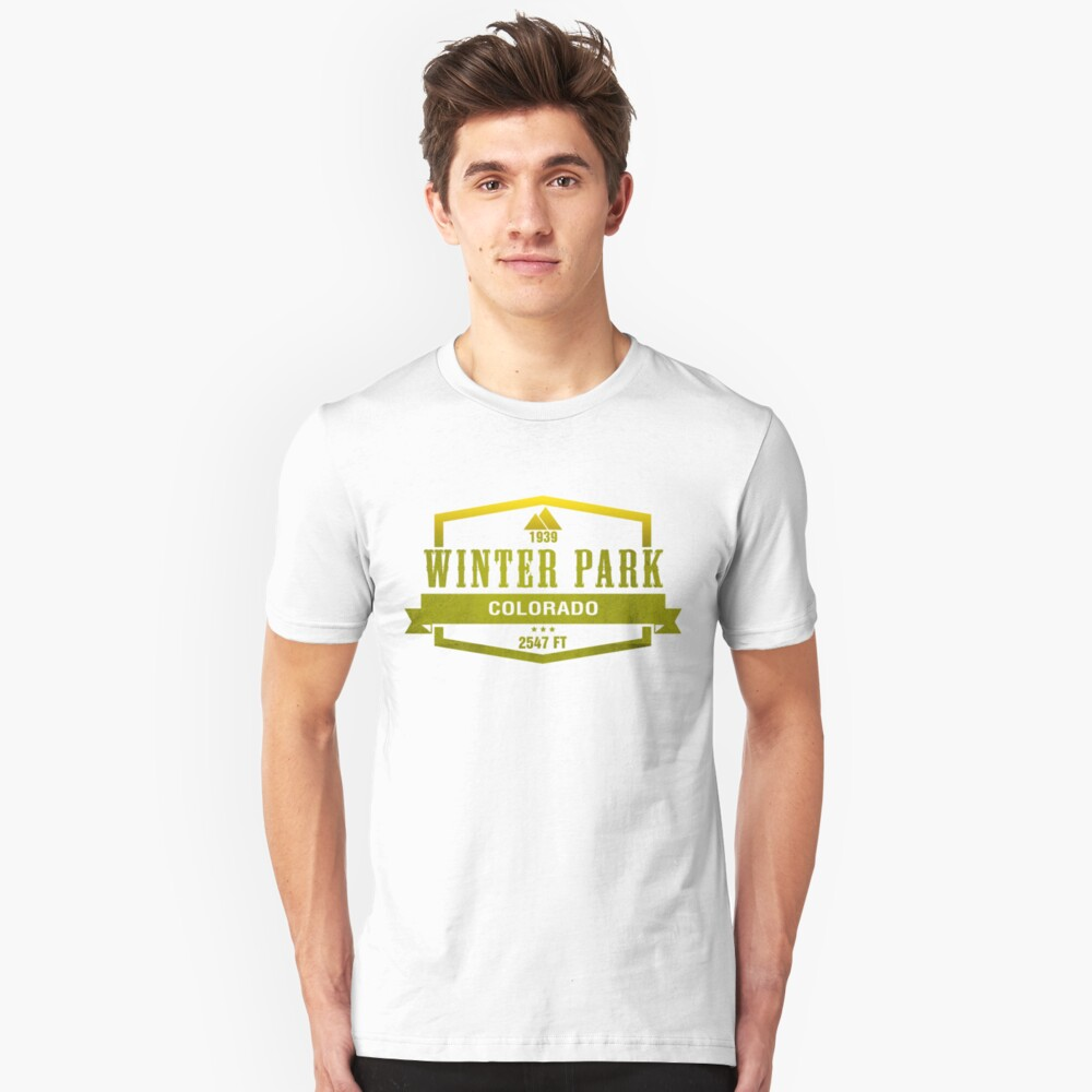 Winter Park Ski Resort Colorado Unisex T-Shirt Front