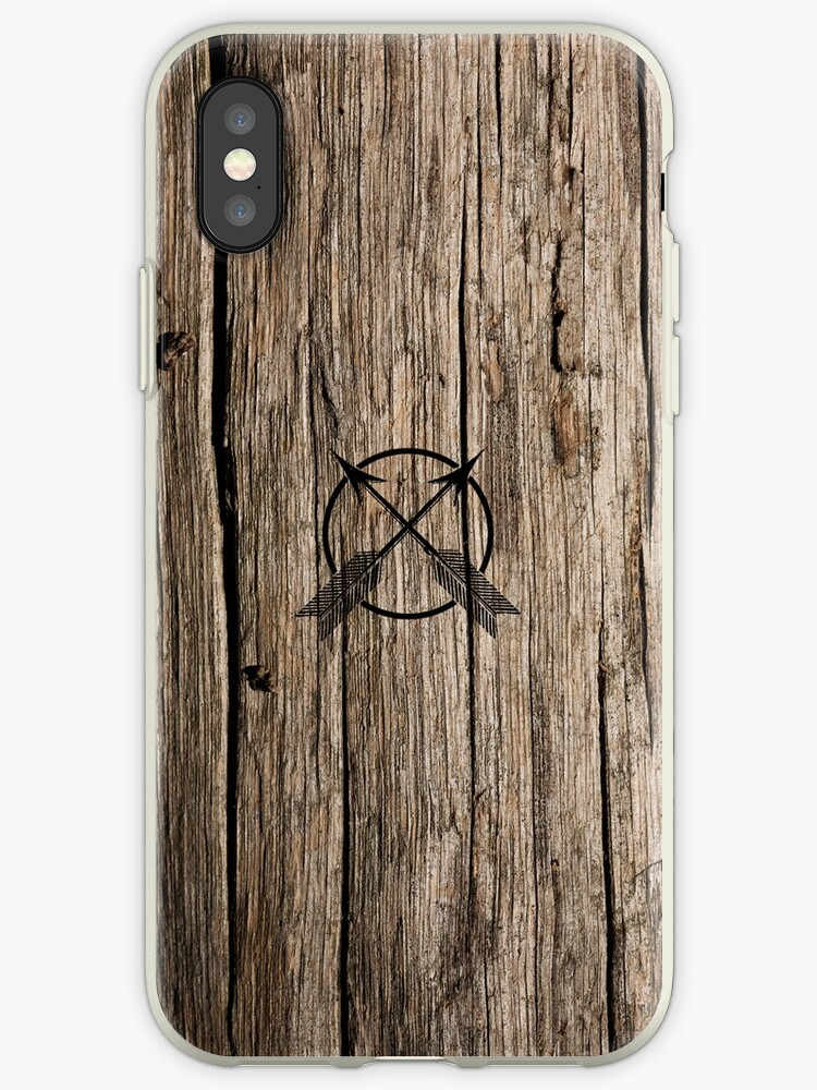 Wood Print Case by BlueBlackBeige
