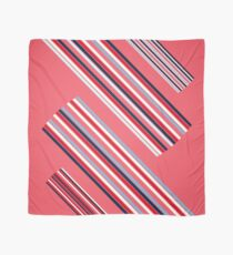 """Vintage Colorful Beautiful Stripes Vintage """"Peach"""" eco Edition. NEW Design authentic Collection. Scarf"""