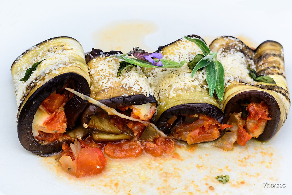 Aubergine Cannelloni  by 7horses