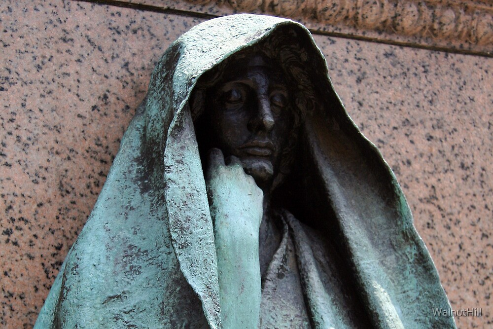 Grief - The Adams Memorial by WalnutHill