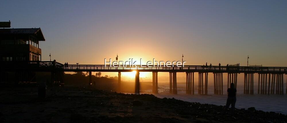 Ventura Pier at Sunrise by Henrik Lehnerer