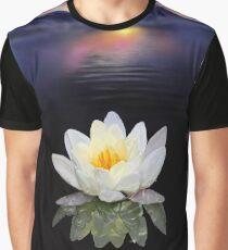Lotus at Dawn Graphic T-Shirt