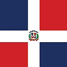 Dominican Republic Flag by stoopiditees