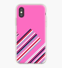 Luxury Artistic Fashion Collection with Retro Vintage Stripes - Luxury Collection iPhone Case