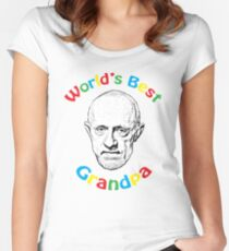 World's Best Grandpa Women's Fitted Scoop T-Shirt