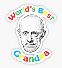 World's Best Grandpa Sticker