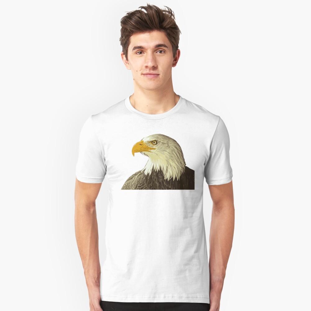 Bald Eagle edit Unisex T-Shirt Front