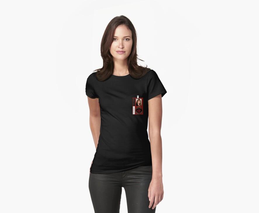 Fringe Parallel Universe Olivia Dunham ID Badge Shirt by zorpzorp