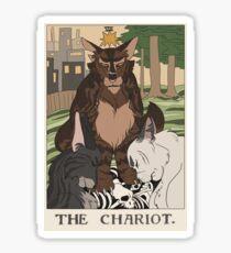 Warriors Tarot Series- The Chariot Sticker