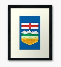 Alberta Crest Framed Print