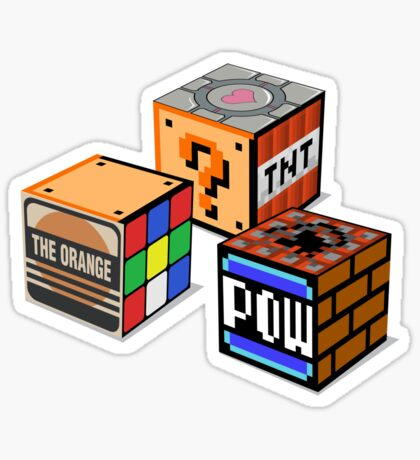 Geeky Cubes Sticker
