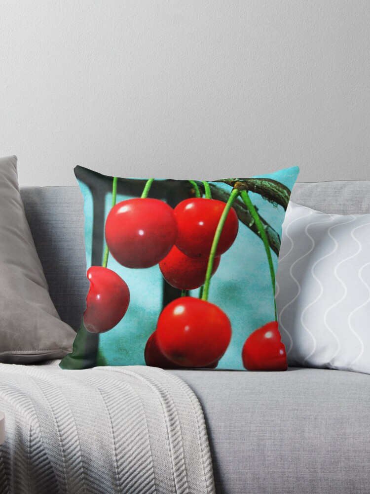 Cherries in red by RosiLorz
