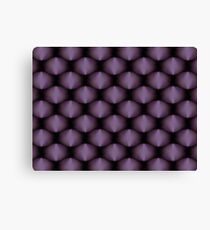 Amethysts Gem Group Pattern Canvas Print