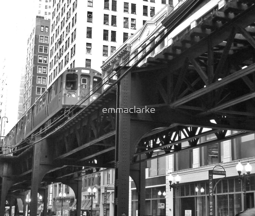 Chicago Train by emmaclarke